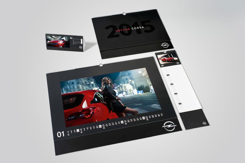 Opel Corsa Kalender 2015