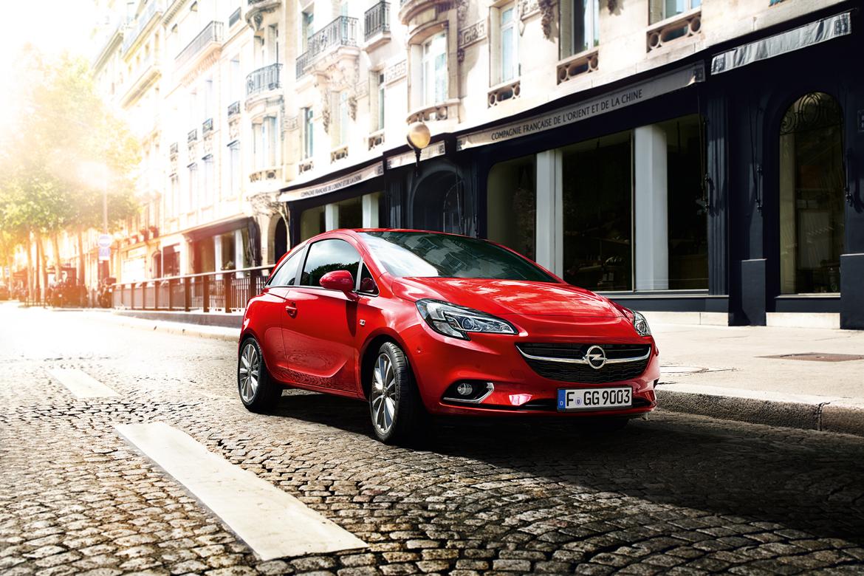 Opel Corsa Postproduktion