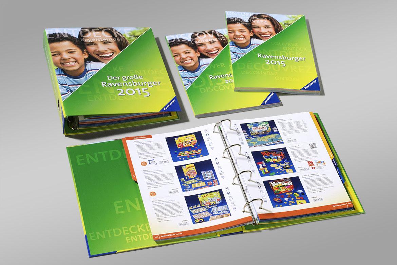 Ravensburger nationale und internationale Kataloge