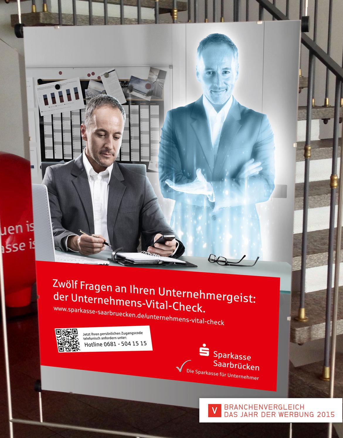 Sparkasse Unternehmergeist Jahr der Werbung