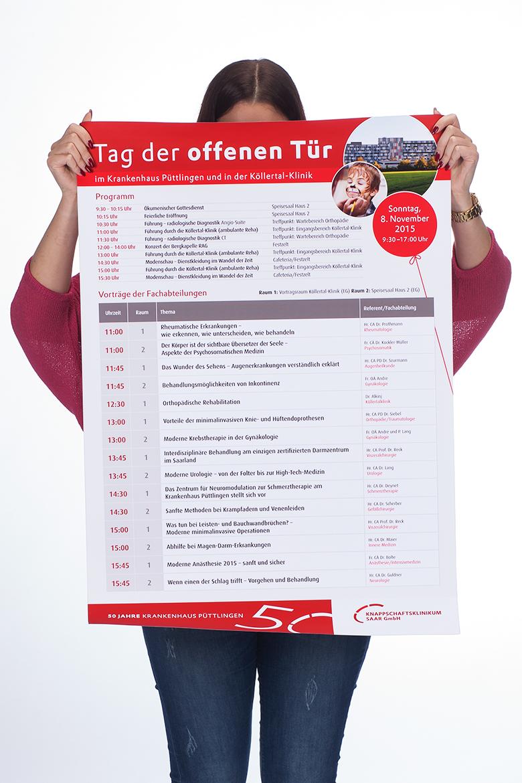 Programm Tag der offenen Tür Knappschaftskrankenhaus Püttlingen